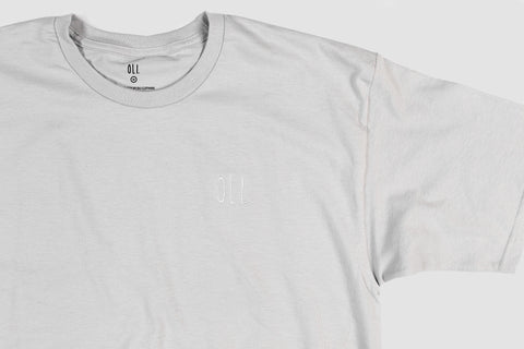 Embroidered Standard T - Slate