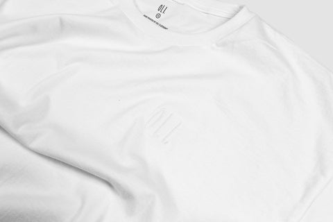 Embroidered Standard T - White