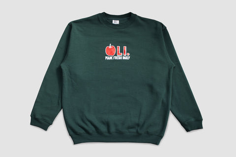 Apple Pullover - Forest - Oli.