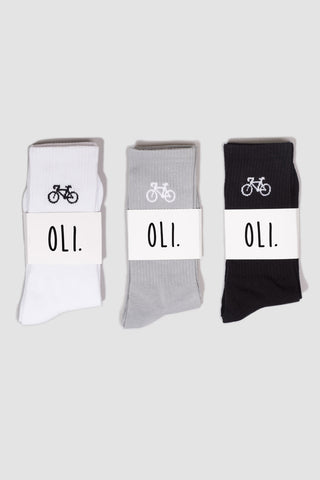 Bike Sock - 3 Pack