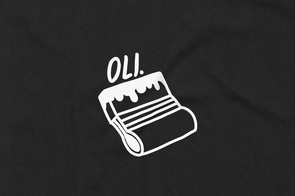 Squeegee T Black - Print To Order - Oli.