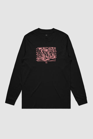 Running Club Long Sleeve - Black