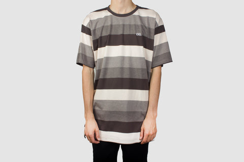 Heavyweight Charcoal Stripe