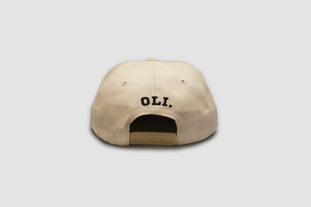 Big Dogs Only Cap - Cream & Black - Oli.