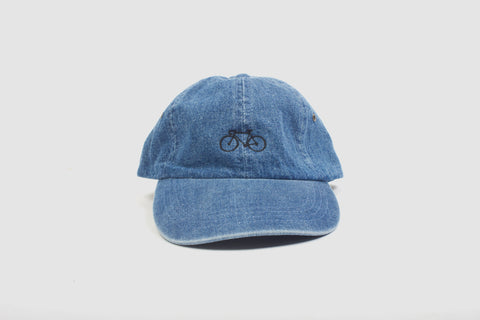 Bike Cap - Denim - Oli.