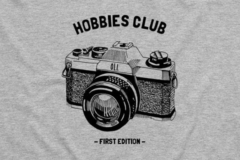 Film Hobbies Club T - Grey - Oli.