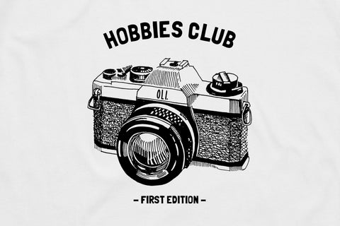 Film Hobbies Club T - White - Oli.