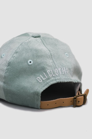 Corduroy Bike Cap - Mint