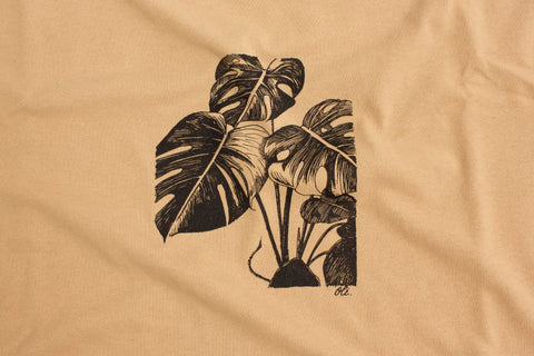 Monstera T - Camel - Oli.