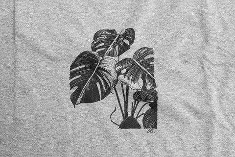 Monstera T - Grey - Oli.