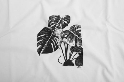 Monstera T - White - Oli.