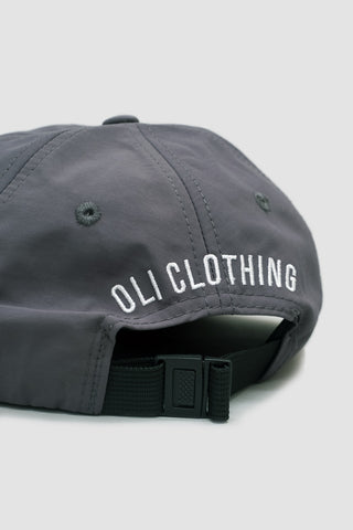 Nylon Bike Cap - Coal