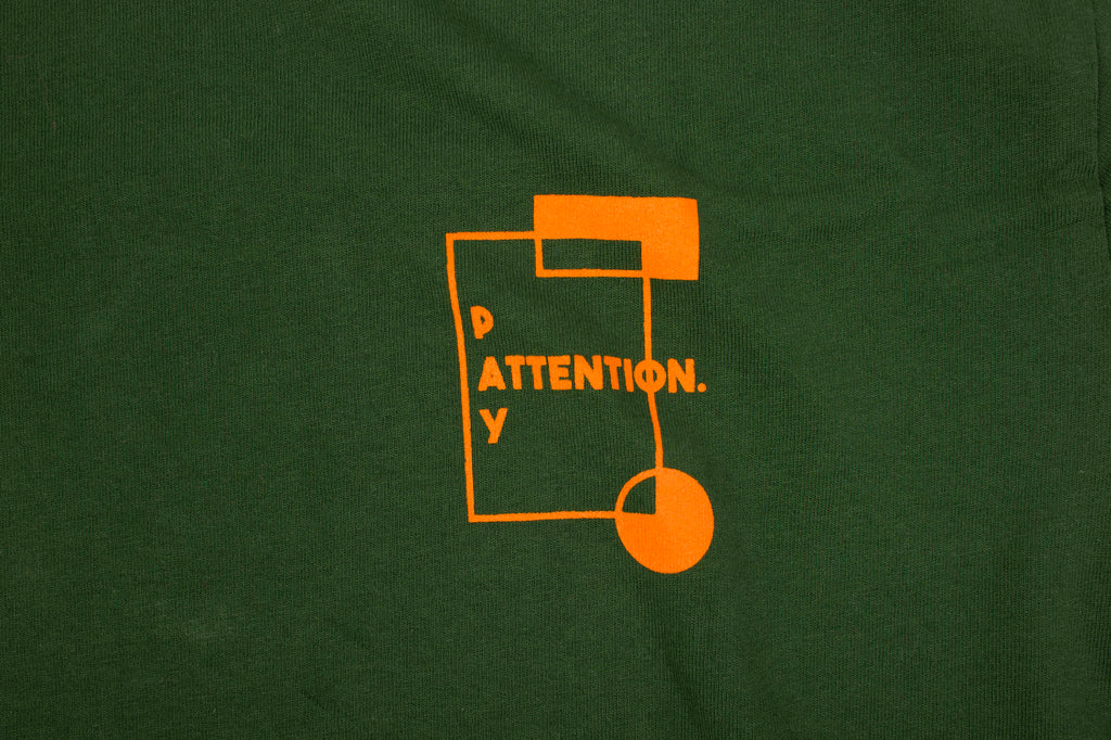 Pay Attention Back Print - Forest - Oli.