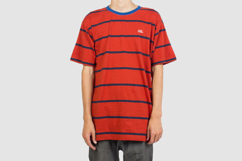 Terracotta Stripe T