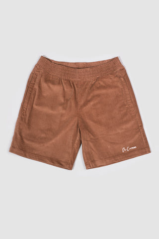 Corduroy Walk Short - Rust