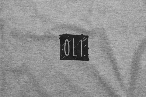 Shop Back Print - Grey - Oli.