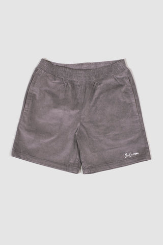 Corduroy Walk Short - Slate