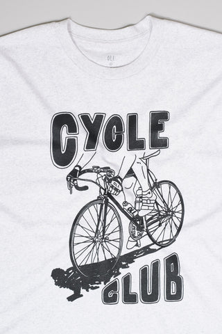 Cycle Club T - Athletic Grey