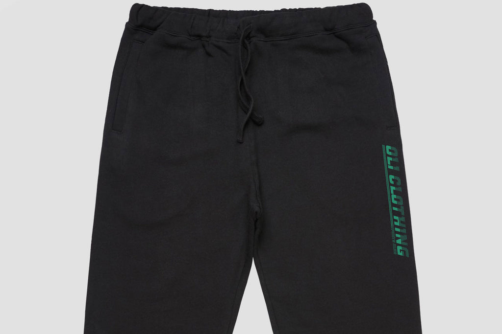 Sports Club Track Pants - Black - Oli.