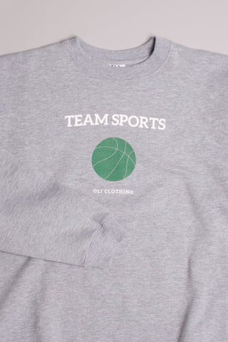 Team Sports Pullover - Grey