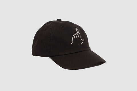 Canvas Lefty Cap - Black - Oli.