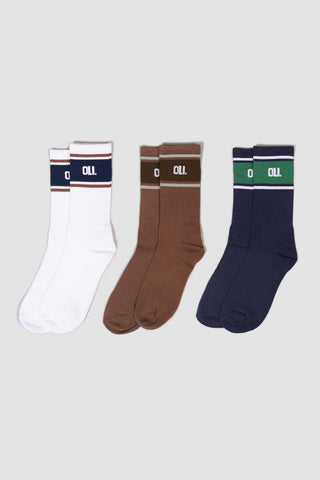 Tube Sock - 3 Pack