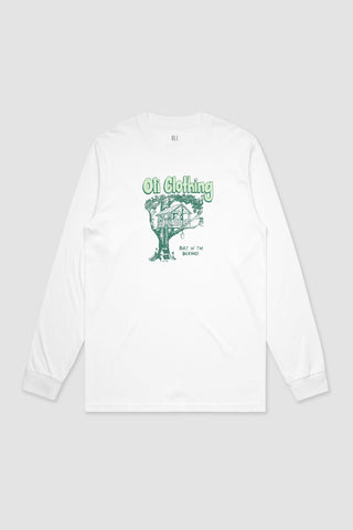 Backyard Long Sleeve - White