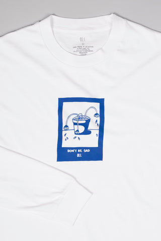 Don't Be Sad Long Sleeve - White