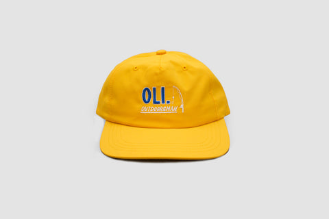 Nylon Outdoorsman Cap - Yellow - Oli.
