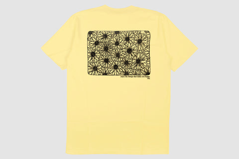 Sunflower Back Print - Yellow - Oli.