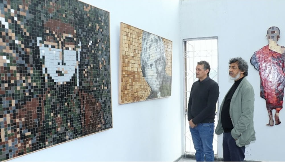 Story in City Air News on 25 March 2019 about me and my Solo Show from 25 March - 29 March 2019, at Fine Arts' Museum, Panjab University, Chandigarh, India