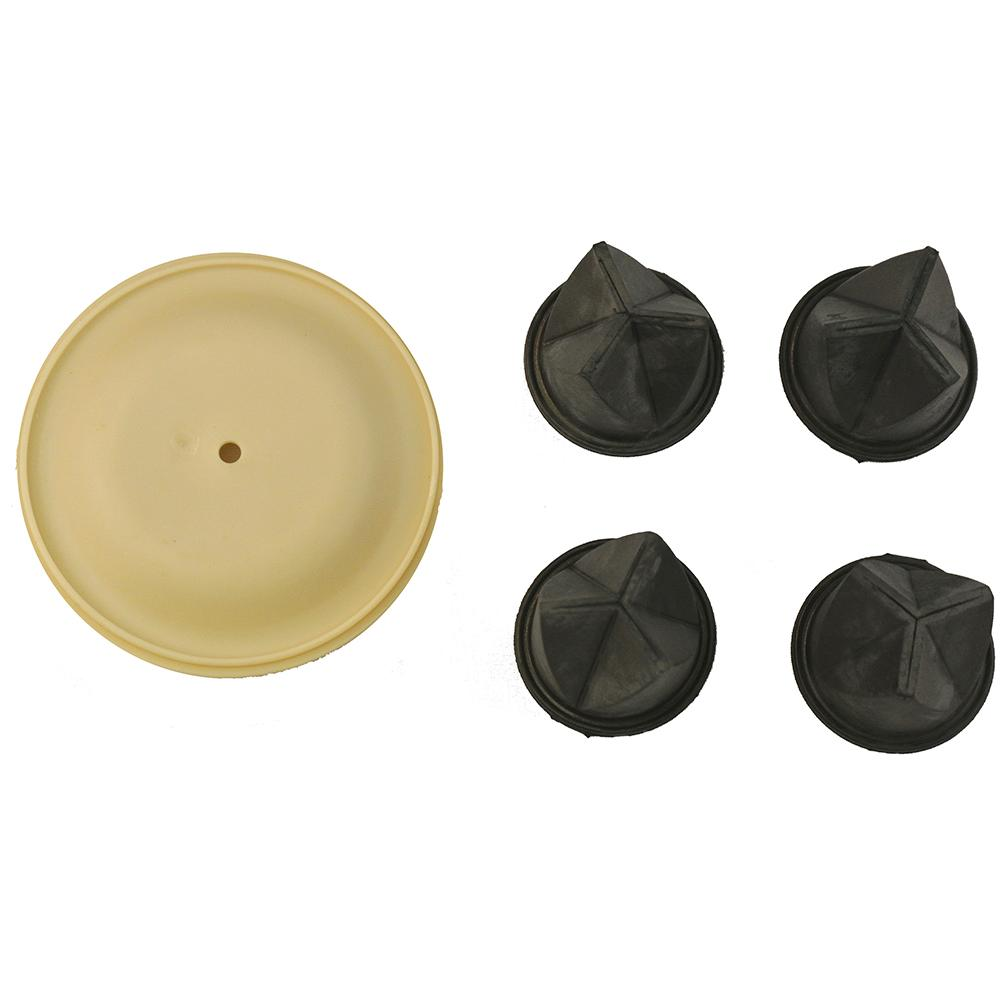 Whale Gulper Service Kit - Diaphragm & Valves