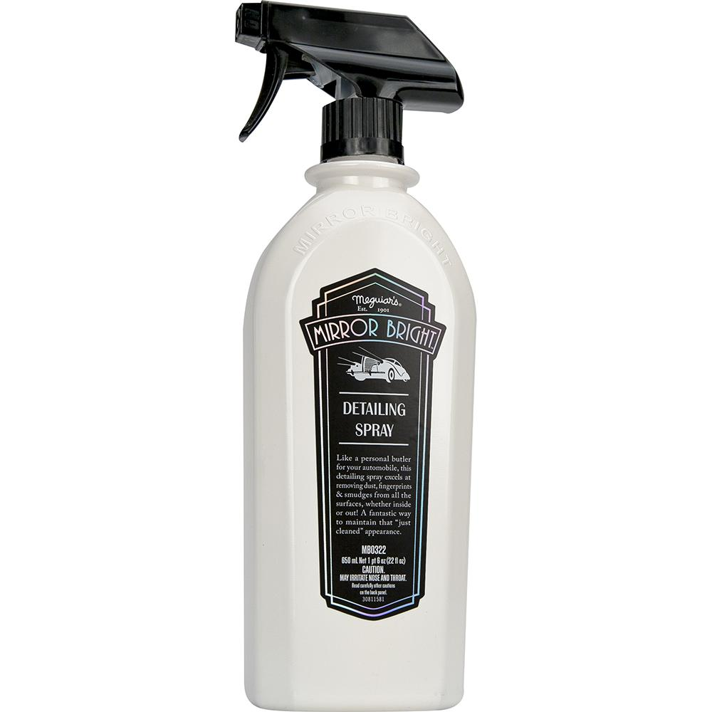 Meguiar's Mirror Bright™ Detailing Spray - 22oz Spray Bottle
