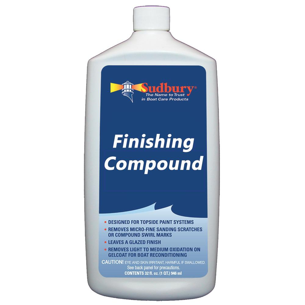Sudbury Finishing Compound - 32oz Liquid