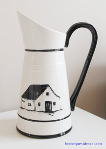 Farmhouse-Style Pitcher
