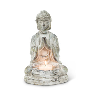 Sitting Buddha Tea Lite Holder