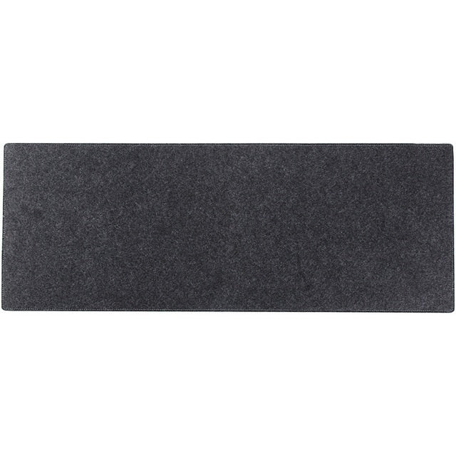 Large desk mat for keyboard and mouse