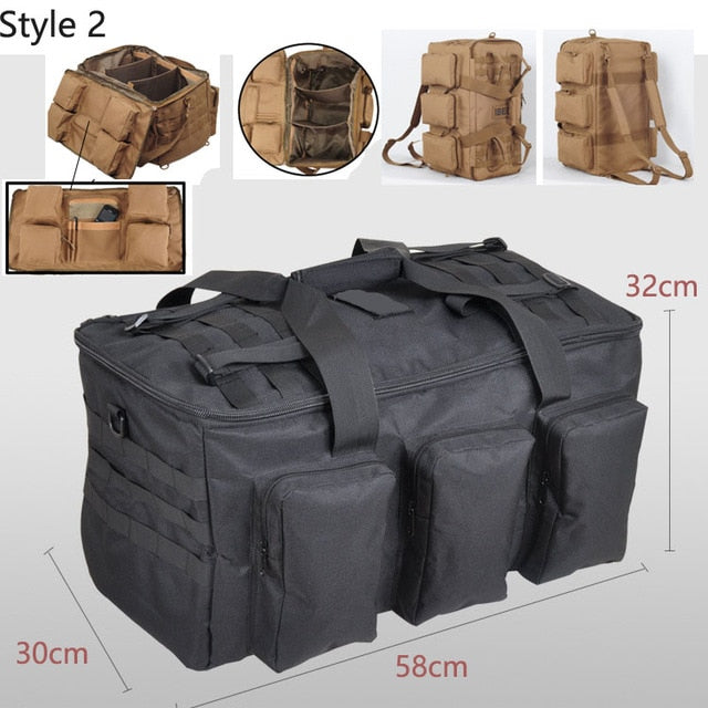 50L Outdoor Military Bag