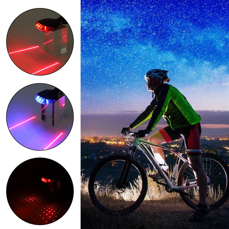 Waterproof Bicycle Led/Laser Taillights