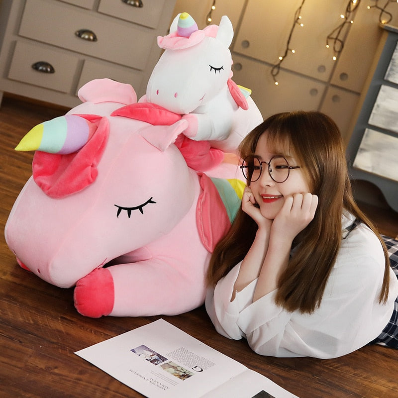 Giant Stuffed Unicorn Soft Doll