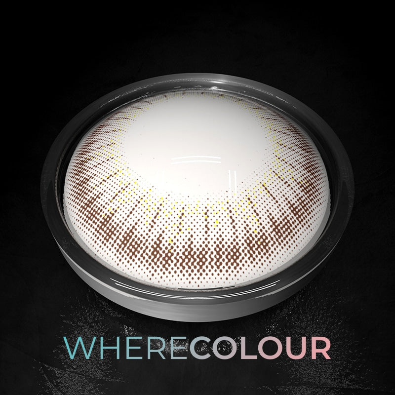 WhereColour Natural Ice Mango Hazel Contacts
