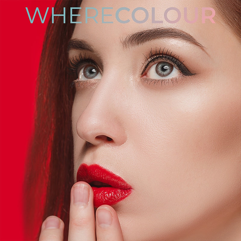 WhereColour Natural Chocolate Hazel Contacts