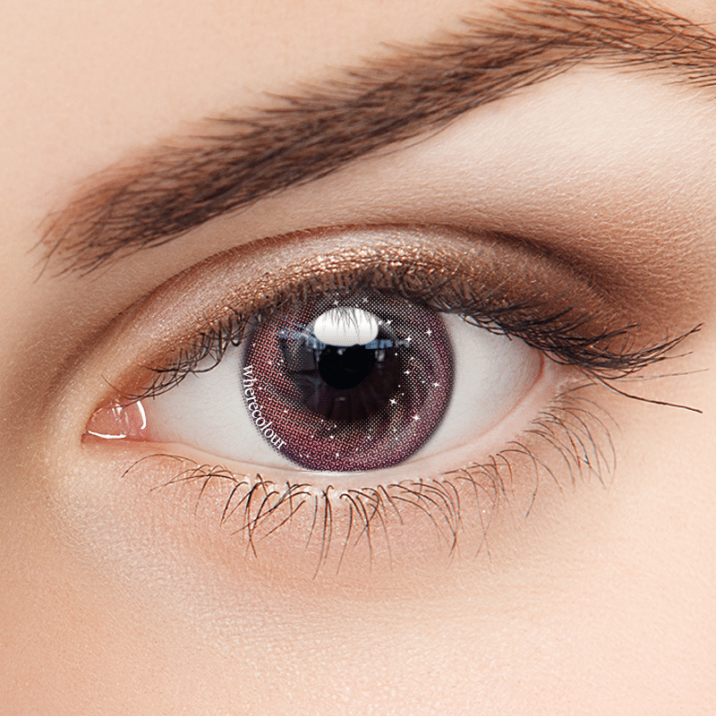 WhereColour Rosy Pink II Galaxy Contacts