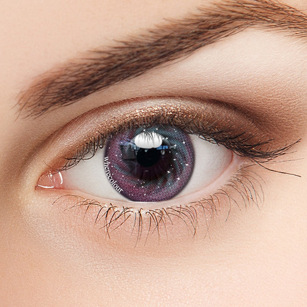 WhereColour Charming Purple II Galaxy Contacts