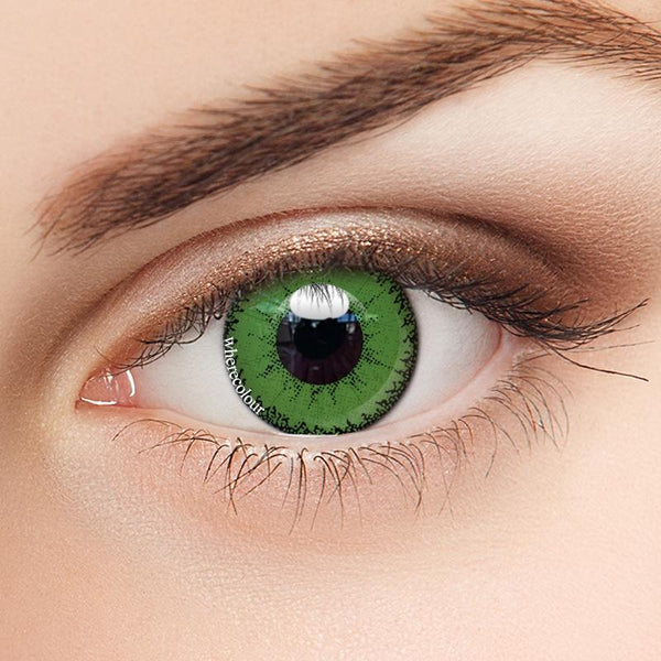 WhereColour Scary Witch Green Contacts