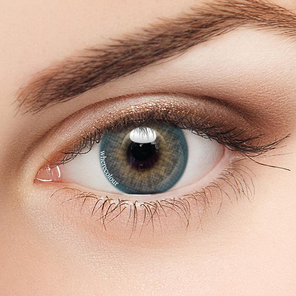 WhereColour Natural India Blue Contacts