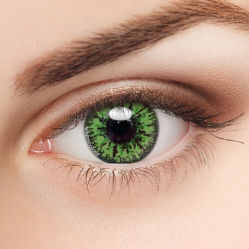Anime- WhereColour Mystery Green Contacts