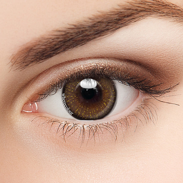 WhereColour Glitter Brown Colored Contact Lenses