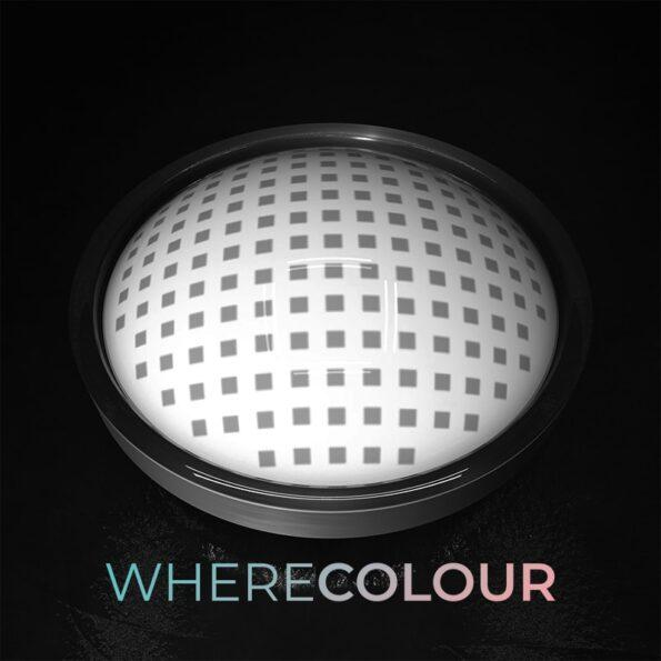 Halloween Style-WhereColour Best White Mesh Contacts