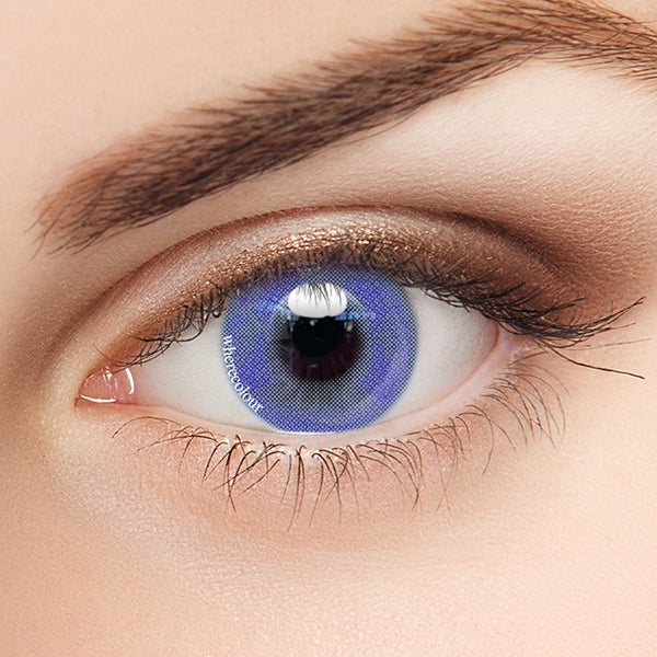 WhereColour Secret Butterfly Blue Colored Contact Lenses